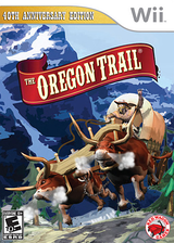 The Oregon Trail Wii cover (SORE4Z)