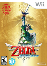 The Legend of Zelda: Skyward Sword Wii cover (SOUE01)