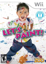 Let's Paint Wii cover (SPUE20)