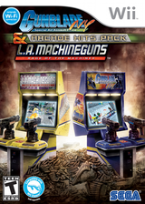 Gunblade NY & LA Machineguns : Arcade Hits Pack Wii cover (SQDE8P)