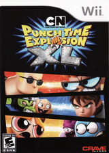 Cartoon Network Punch Time Explosion XL Wii cover (SQLE4Z)