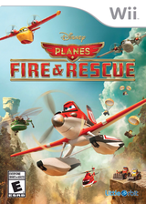 Disney Planes: Fire & Rescue Wii cover (SQQEVZ)