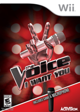 The Voice: I Want You Wii cover (SQWE52)