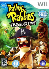 Raving Rabbids: Travel in Time Wii cover (SR4E41)