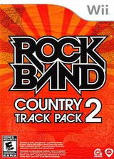 Rock Band: Country Track Pack 2 Wii cover (SRCE69)