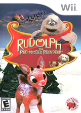 Rudolph the Red-Nosed Reindeer Wii cover (SRUE4Z)