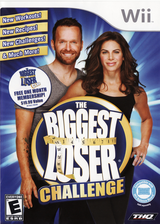 The Biggest Loser Challenge Wii cover (ST6E78)