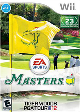 Tiger Woods PGA Tour 12: The Masters Wii cover (STXE69)
