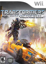 Transformers: Dark of the Moon - Stealth Force Edition Wii cover (STZE52)
