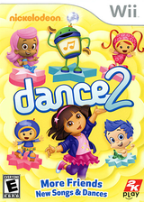 Nickelodeon Dance 2 Wii cover (SU2E54)