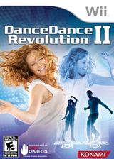 Dance Dance Revolution II Wii cover (SUREA4)