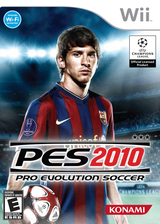 Pro Evolution Soccer 2010 Wii cover (SUXEA4)