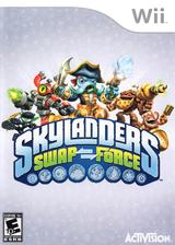 Skylanders: Swap Force Wii cover (SVXE52)