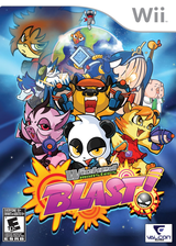 Wicked Monsters Blast! Wii cover (SW9EVN)