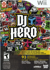 DJ Hero Wii cover (SWAE52)