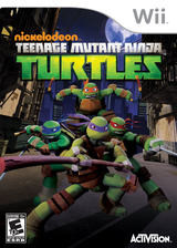 Teenage Mutant Ninja Turtles Wii cover (SX7E52)