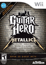 Guitar Hero: Metallica Wii cover (SXBE52)