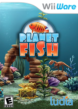 Planet Fish WiiWare cover (W22E)