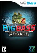 Big Bass Arcade WiiWare cover (W2AE)