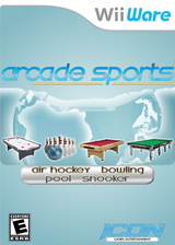 Arcade Sports WiiWare cover (W4AE)