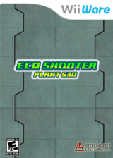 Eco Shooter: Plant 530 WiiWare cover (W6BE)