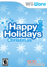 Happy Holidays: Christmas WiiWare cover (W9RE)