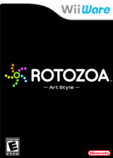 Art Style: Rotozoa WiiWare cover (WA8E)