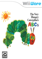 The Very Hungry Caterpillar's ABCs WiiWare cover (WAOE)