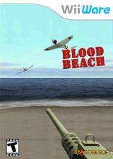 Blood Beach WiiWare cover (WBHE)