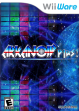 Arkanoid Plus! WiiWare cover (WBKE)