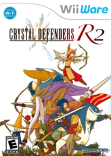 Crystal Defenders R2 WiiWare cover (WC2E)