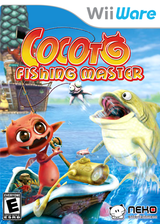 Cocoto Fishing Master WiiWare cover (WCOE)