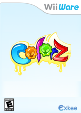 ColorZ WiiWare cover (WCZE)