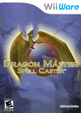 Dragon Master Spell Caster WiiWare cover (WDSE)
