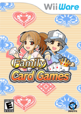 Family Card Games WiiWare cover (WF5E)