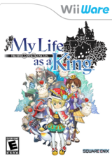 Final Fantasy Crystal Chronicles: My Life as a King WiiWare cover (WFCE)