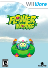 Flower Works WiiWare cover (WFWE)