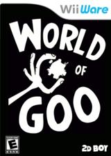 World of Goo WiiWare cover (WGOE)