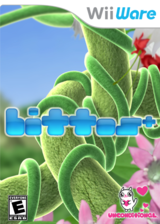 bittos+ WiiWare cover (WIBE)