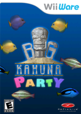 Big Kahuna Party WiiWare cover (WKHE)