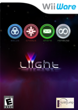 Liight WiiWare cover (WLIE)