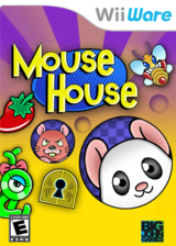 Mouse House WiiWare cover (WMHE)