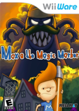 Max & The Magic Marker WiiWare cover (WMXE)
