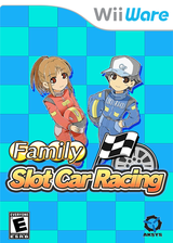 Family Slot Car Racing WiiWare cover (WOSE)