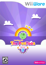 Learning with the PooYoos: Episode 3 WiiWare cover (WP4E)