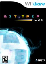 Bit.Trip: Flux WiiWare cover (WTFE)