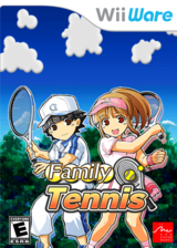 Family Tennis WiiWare cover (WTNE)