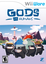 Gods Vs Humans WiiWare cover (WVSE)