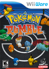 Pokémon Rumble (Demo) WiiWare cover (XHAE)