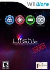 Liight (Demo) WiiWare cover (XI7E)